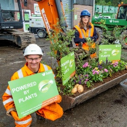 BAM adopts plant-based fuels to help slash UK carbon emissions
