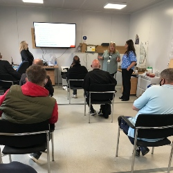 BAM helps local residents get a taste of construction