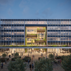 Erasmus University invests in a new circular education building
