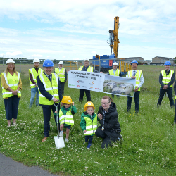 Construction begins on first hub South West public-private partnership in Scotland