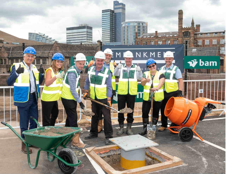 100 Reasons to celebrate as work begins at 100 Embankment - BAM News