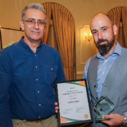 Fazakerley man nets safety award for his work at Aintree Hospital