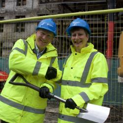 Breaking new ground with landmark building