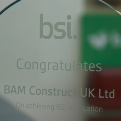 BAM first to attain BSI BIM accreditation