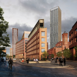 £350 million project set to start on site as Temple District launches