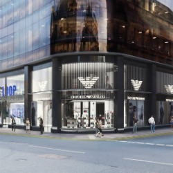 Emporio Armani to open store in Glasgow's Connect110ns retail centre