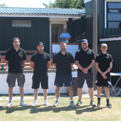 Construction team cricketers step up to the crease to support top Sheffield charities