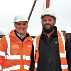 Construction team behind Cardiff scheme helps get offender back on track