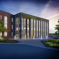 Doncaster's new sixth form college appoints builders for £20m scheme
