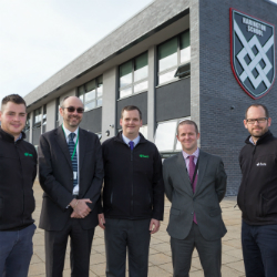 25,550 man hours and zero accidents at Harington School in Rutland