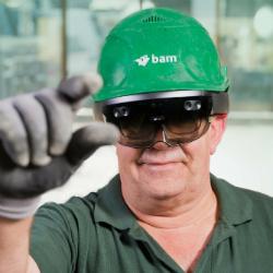 BAM trials Microsoft HoloLens