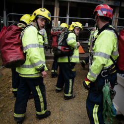 No cause for alarm as fire service makes dramatic rescue in Cambridge