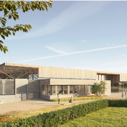 BAM appointed to create new Welcome Building and lake at RHS Garden Bridgewater