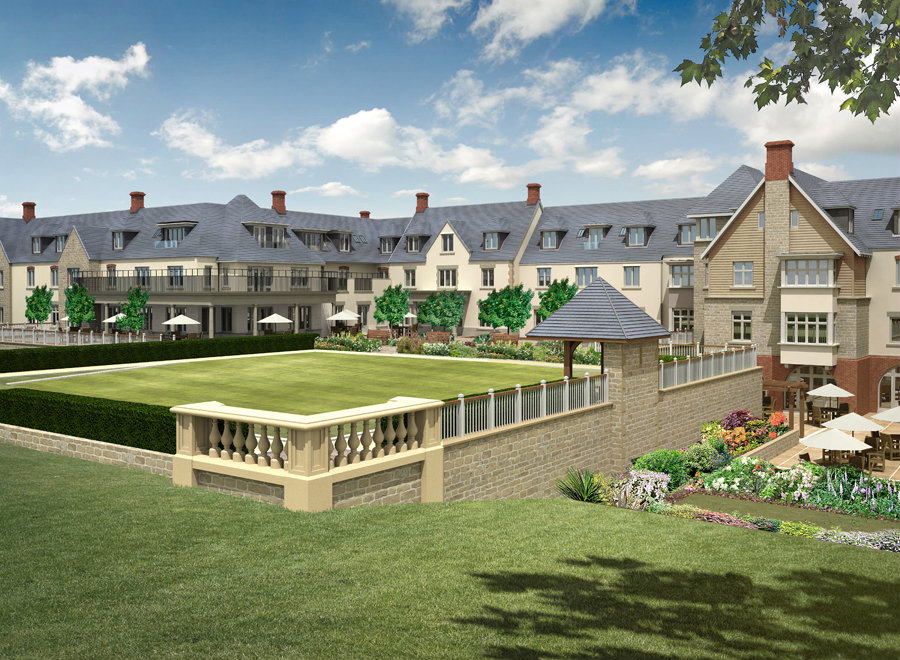 richmond witney retirement village bam case study. Black Bedroom Furniture Sets. Home Design Ideas