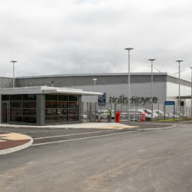 Rolls-Royce Advanced Blade Casting Facility
