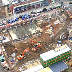 Construction plans at Spinningfields become concrete