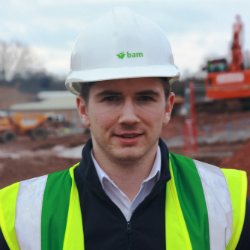 Taunton's largest construction scheme takes one young man back to the future