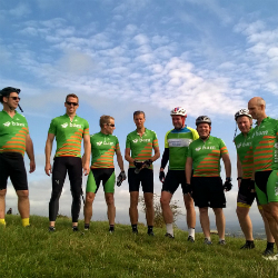 Haywards Heath construction team puts in 126km for Alzheimer's charity