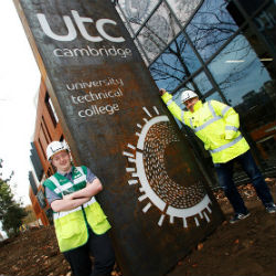 Contractors leave a human legacy at completed Cambridge UTC